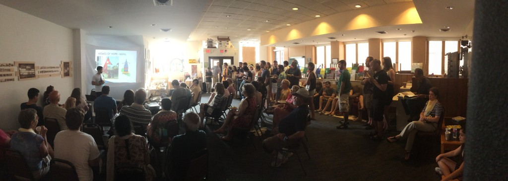 Full house at Nepal Culture Night!
