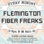 Fiber Freaks Knitting Group Flemington DIY